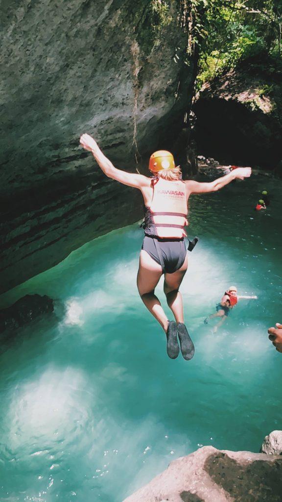 Canyoning Kawasan Waterfall Solon Travel Cebu