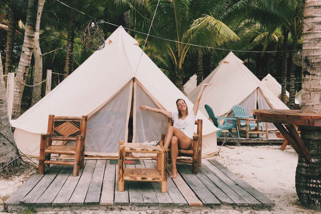 Glamping by the beach Siquijor Solon Travel