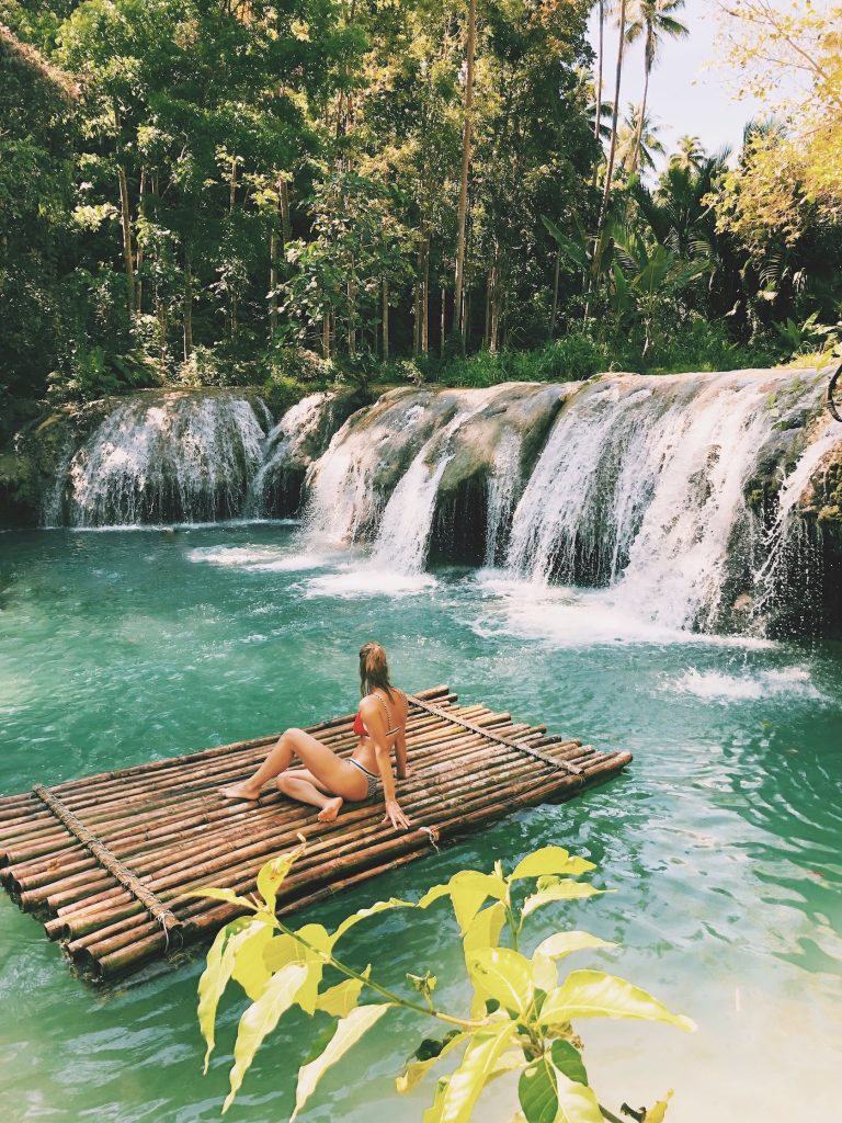 Waterfall Siquijor Filipijnen Solon Travel