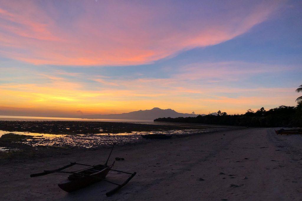 Sunset Solangon Beach Siquijor Solon Travel