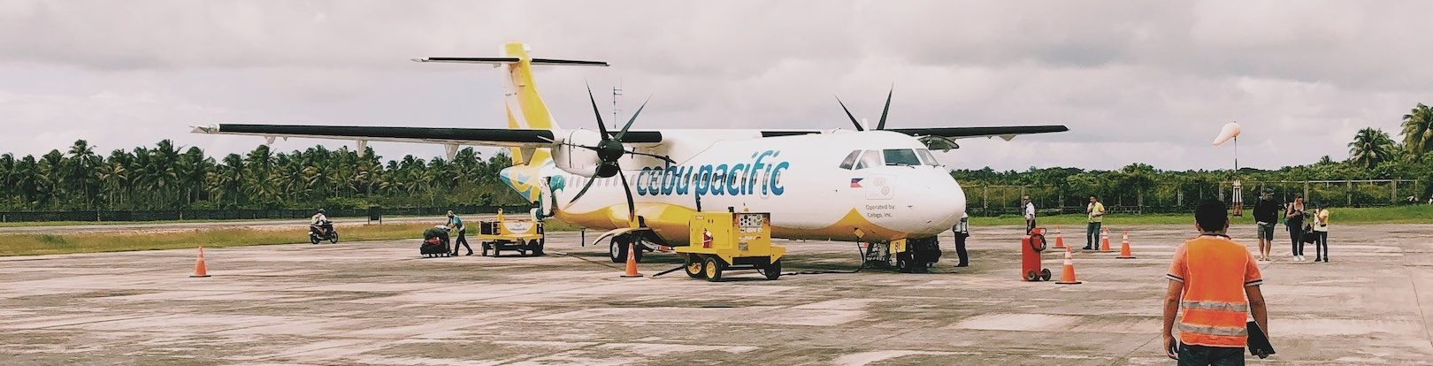 plane cebu pacific air Solon Travel Philippines