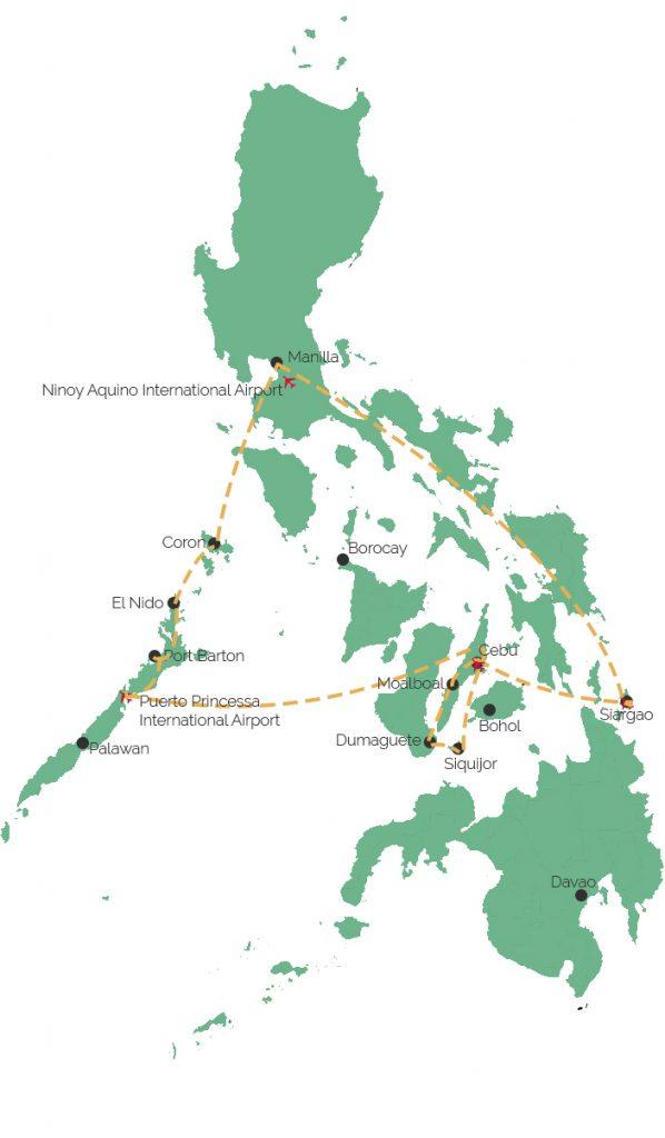 reisroute Filipijnen 3 weken Solon Travel