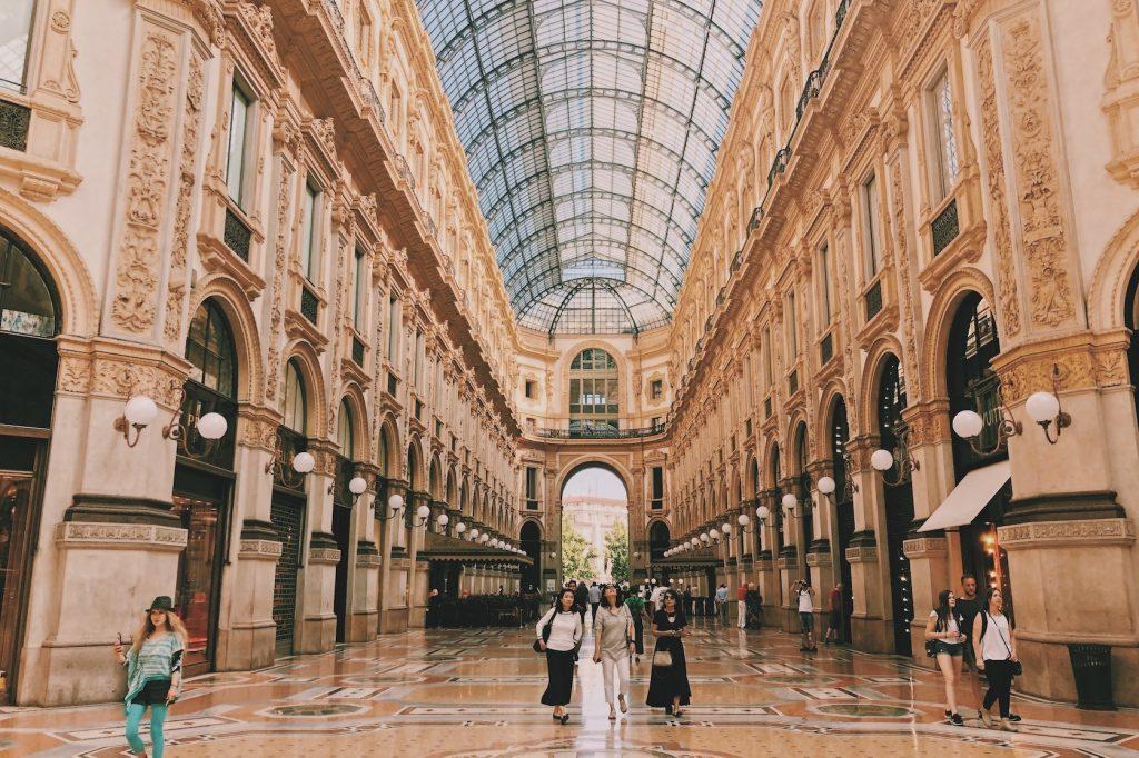 Galleria Vittorio Emanuele || bezienswaardigheden Milaan Duomo gallerie Solon Travel