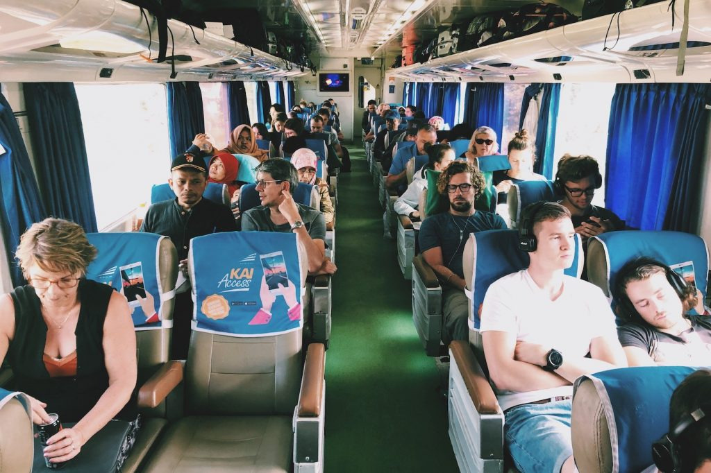 trein reisroute Indonesië Solon Travel