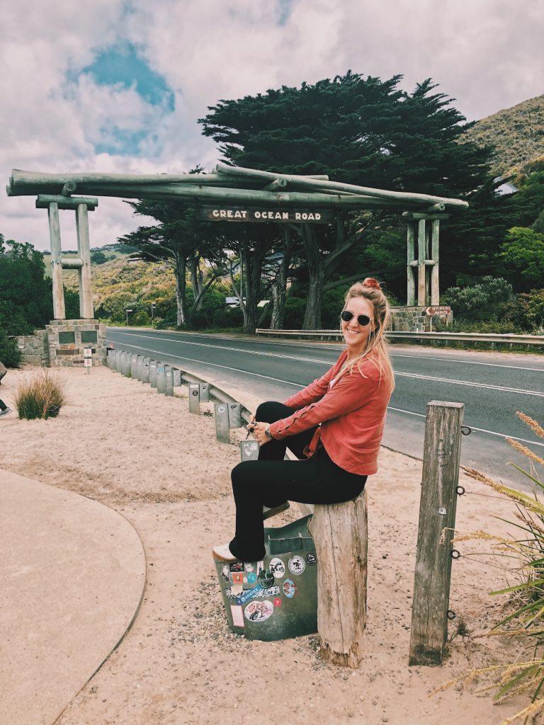 Great Ocean Road Sign Solon Travel