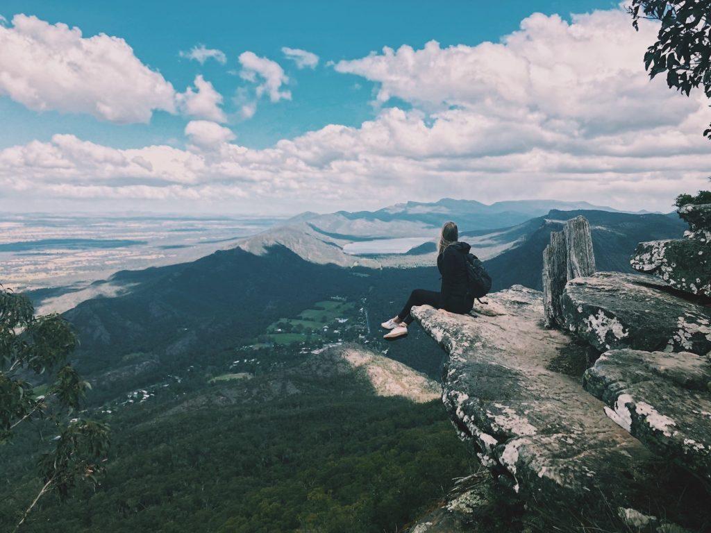 Boroka Lookout Victoria Grampians National Park