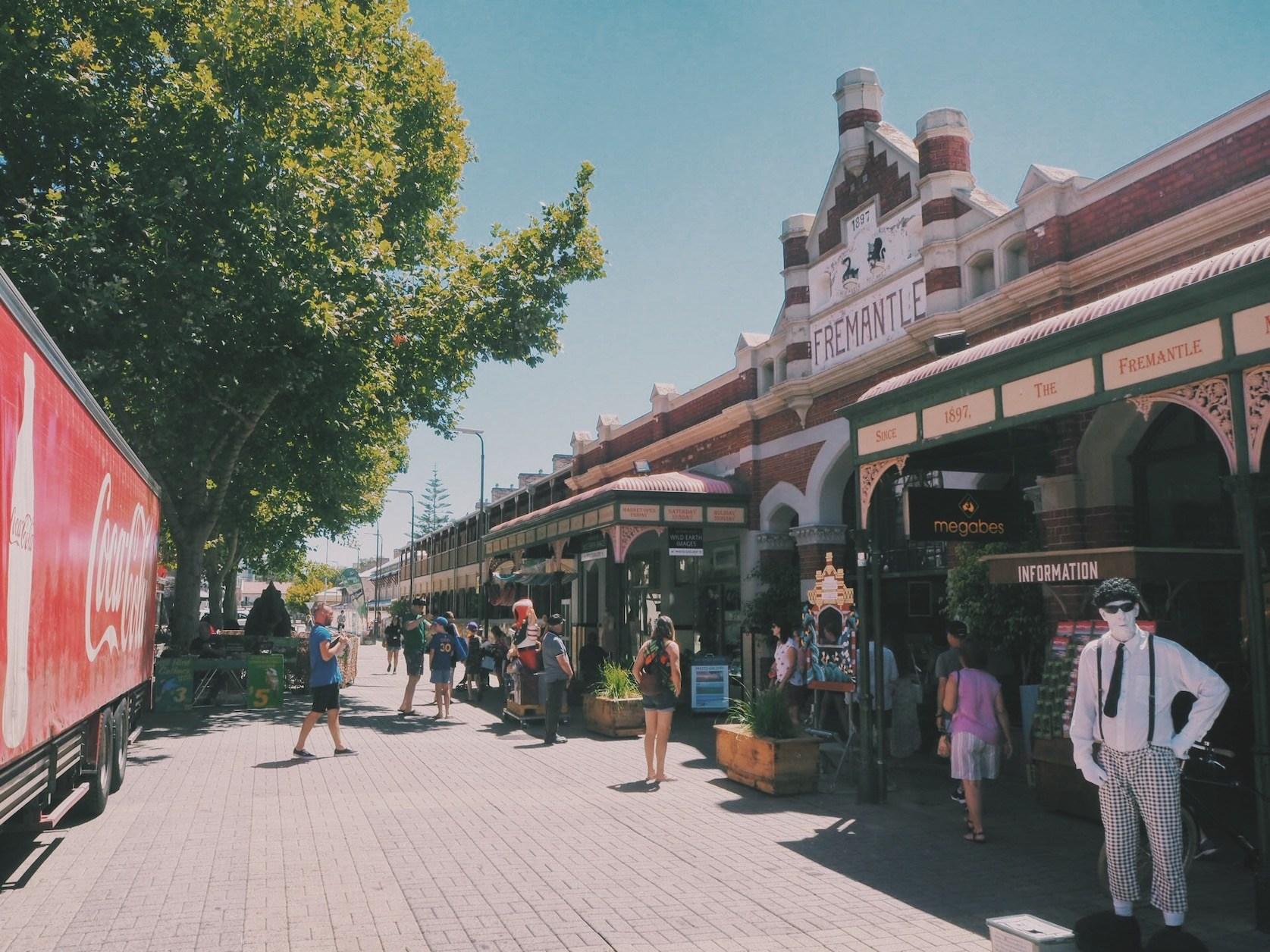 Fremantle What to do Solon Travel Perth Australie Market