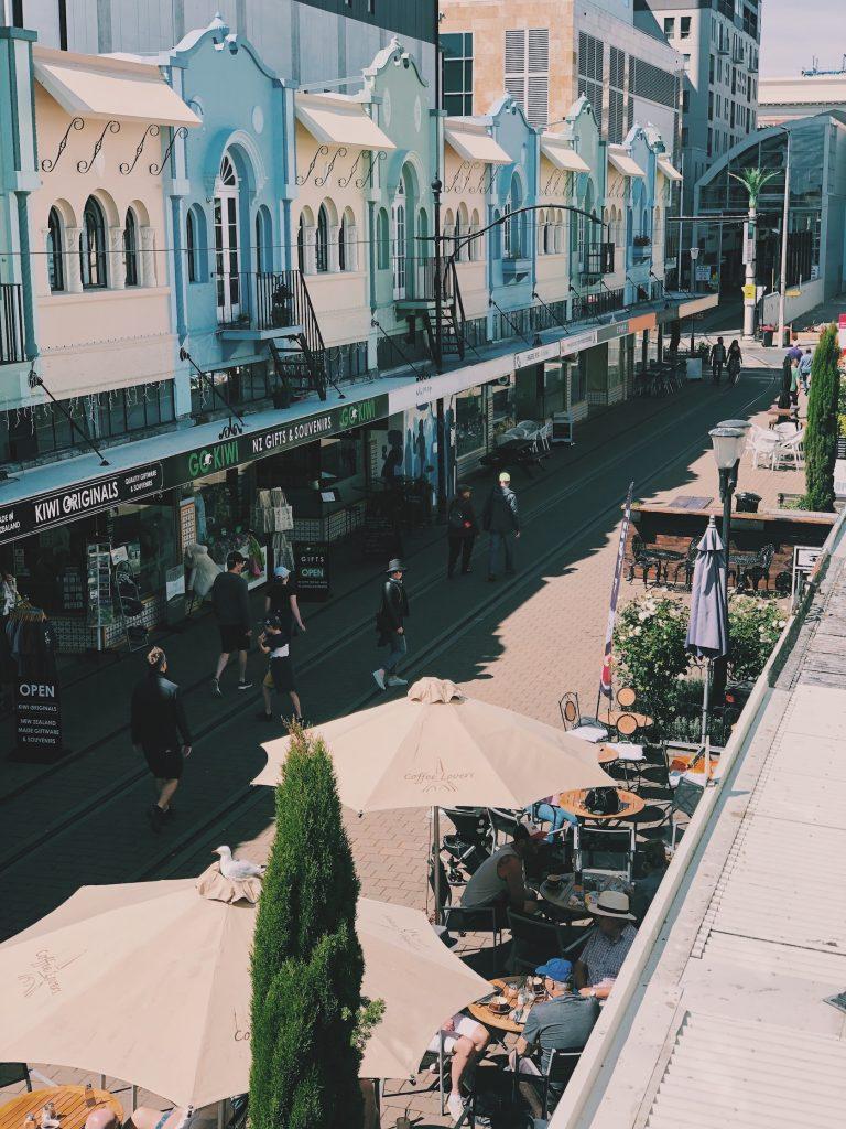 New Regent Street Christchurch New Zealand Nieuw Zeeland Solon Travel