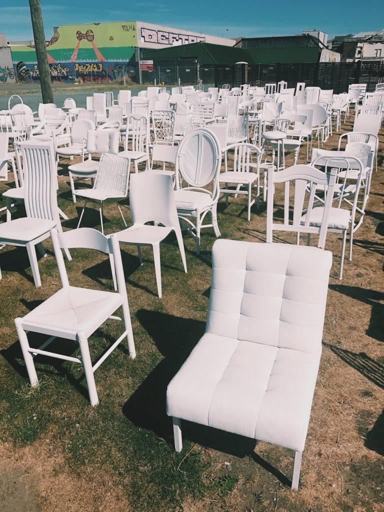 185 White Chairs New Zealand