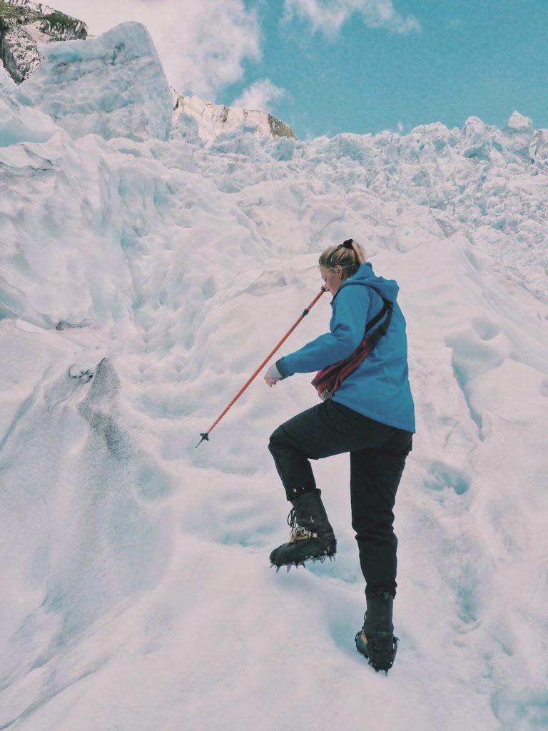 Heli Hike The Helicopterline Franz Josef Glacier Gletsjer Fox Glacier New Zealand Nieuw Zeeland Solon Travel