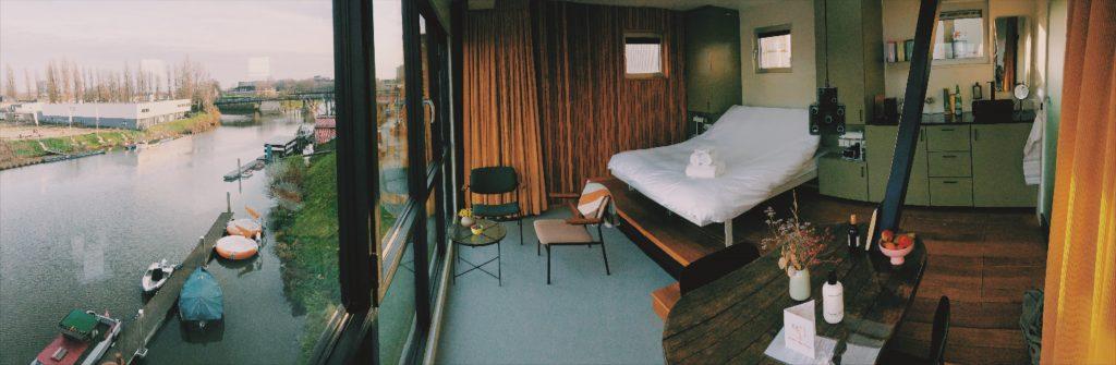 bijzonder overnachten slaap in een hijskraan de Bossche Kraan Solon Travel Den Bosch