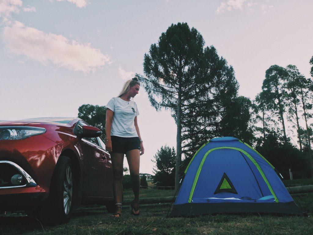 Free camp Taupo Solon Travel