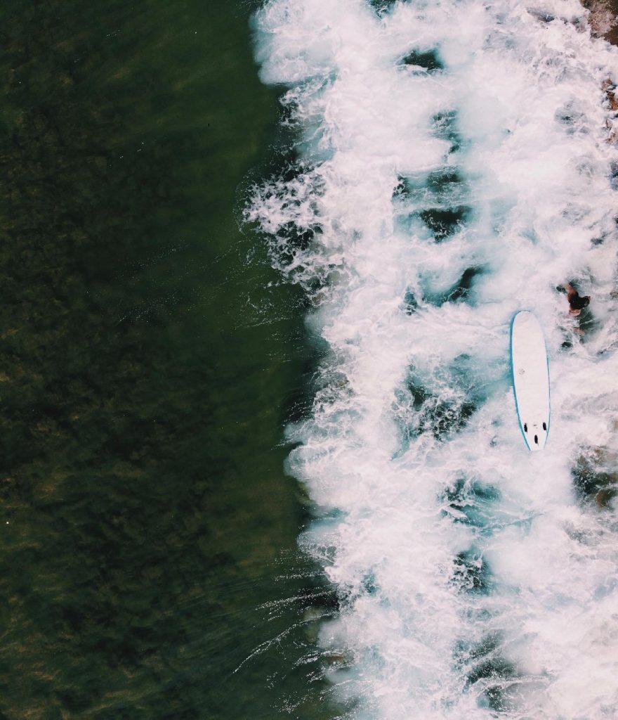 Surfing Surfen Zarautz San Sebastian Solon Travel Spanje kustplaats