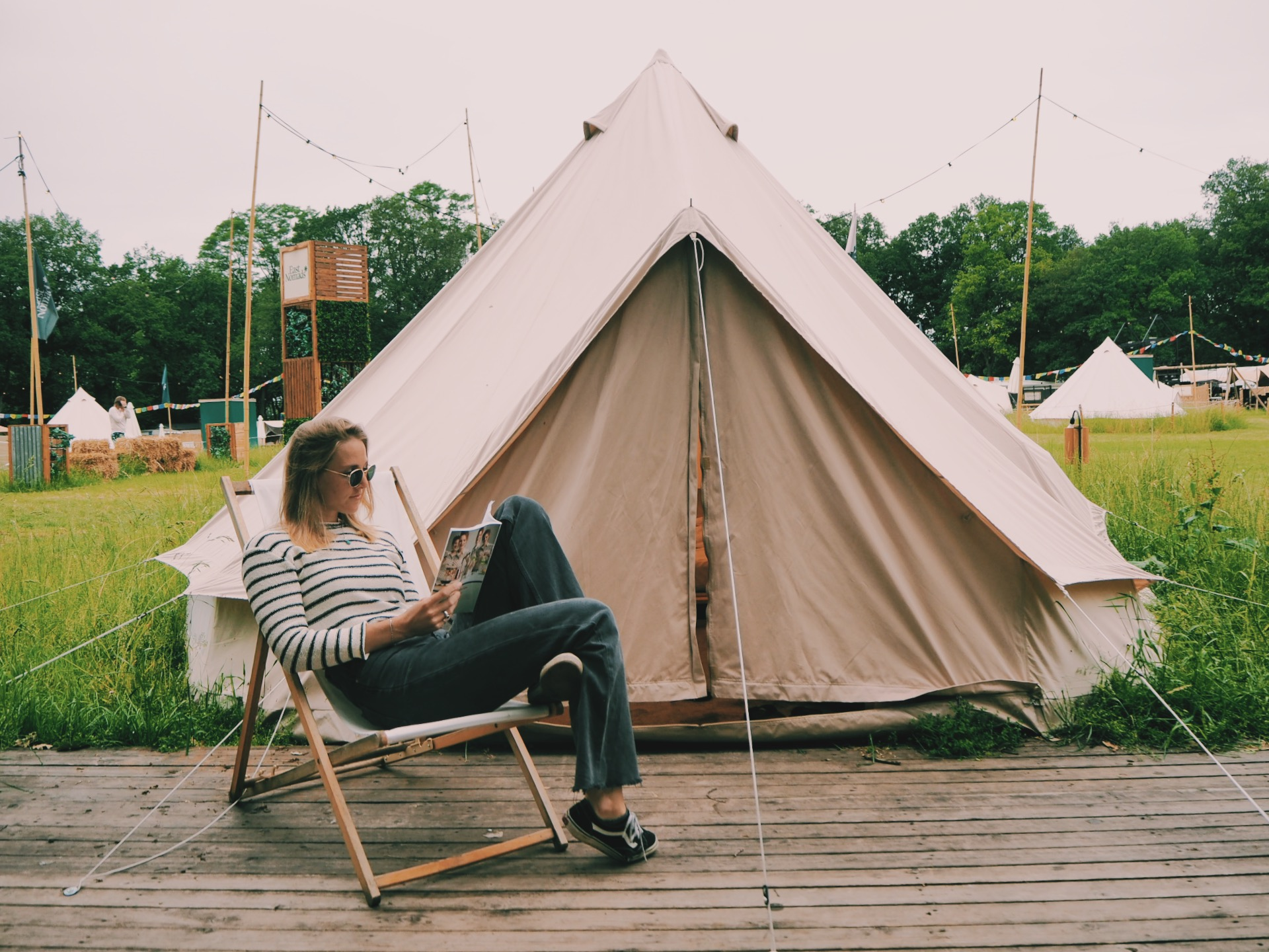 East Nomads camping kamperen Achterhoek Aalten Solon Travel