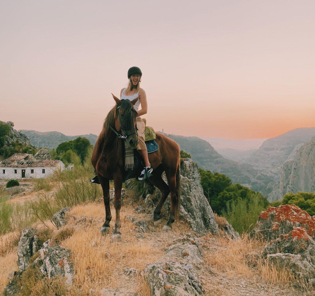 paardrijden El Chorro local experience andalusie wat te doen Solon Travel